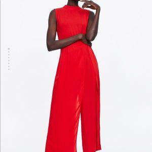 Zara wide jumpsuits